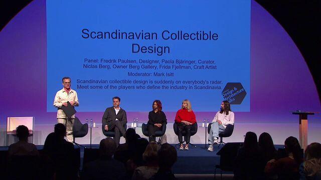 UR Samtiden - Stockholm Design & Architecture talks 2020 : Framtiden för skandinavisk design