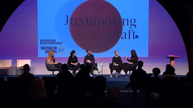 UR Samtiden - Stockholm Design & Architecture talks 2020 : Historiskt hantverk möter nyskapande formgivning