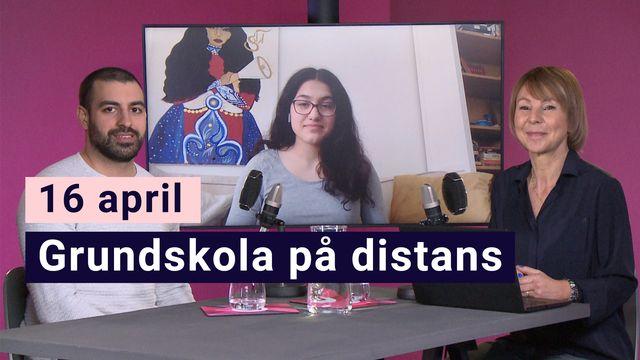 Skola hemma - experterna : 16 april: Järva - en grundskola på distans