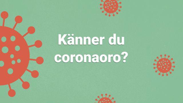 Orka plugga : Känner du corona-oro?