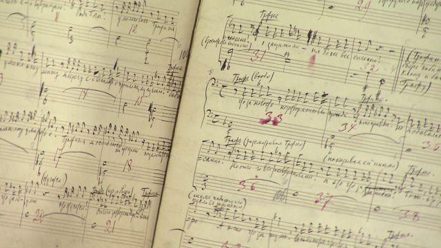 UR Samtiden - Musik- och teaterbibliotekets skatter : Äkta Tjajkovskij i svensk samling